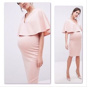 🛍ASOS DESIGN Maternity bodycon midi dress